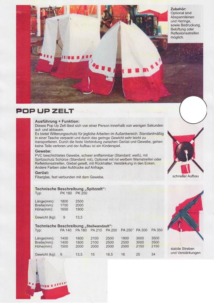 Pop-up Zelt